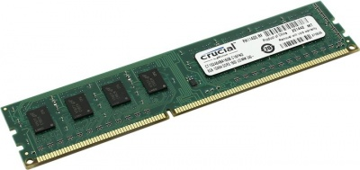 Модуль памяти DDR3 8Gb 1600MHz Crucial CT102464BA160B