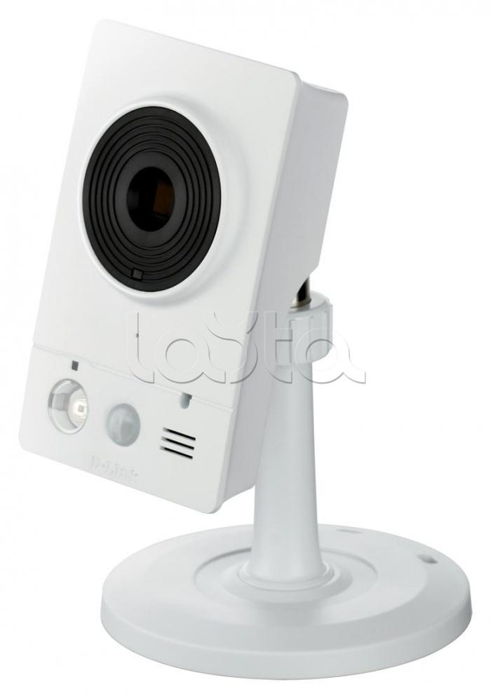 D-Link DCS-2132L/B1A, IP-камера видеонаблюдения миниатюрная беспроводная D-Link DCS-2132L/B1A