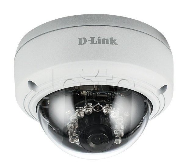D-Link DCS-4602EV/UPA/A1A, IP-камера видеонаблюдения купольная антивандальная D-Link DCS-4602EV/UPA/A1A