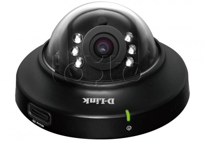 D-Link DCS-6004L/A2A, IP-камера видеонаблюдения купольная D-Link DCS-6004L/A2A