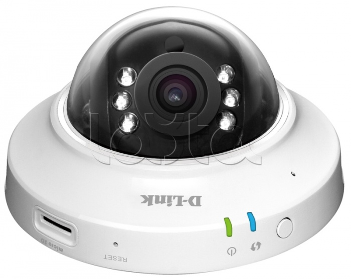 D-Link DCS-6005L, IP-камера видеонаблюдения купольная D-Link DCS-6005L