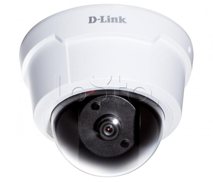 D-Link DCS-6112, IP-камера видеонаблюдения купольная D-Link DCS-6112
