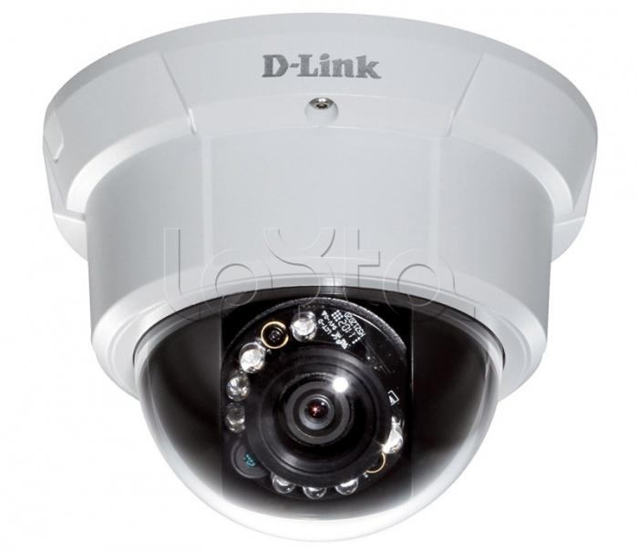 D-Link DCS-6113V, IP-камера видеонаблюдения купольная антивандальная D-Link DCS-6113V