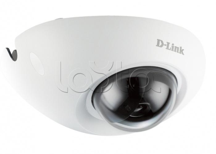 D-Link DCS-6210, IP-камера видеонаблюдения купольная антивандальная D-Link DCS-6210