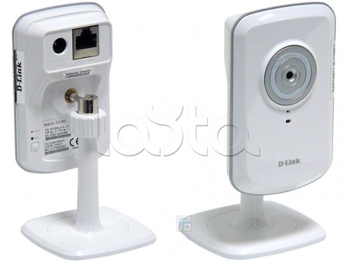 D-Link DCS-930L/A3A, IP-камера видеонаблюдения миниатюрная беспроводная D-Link DCS-930L/A3A