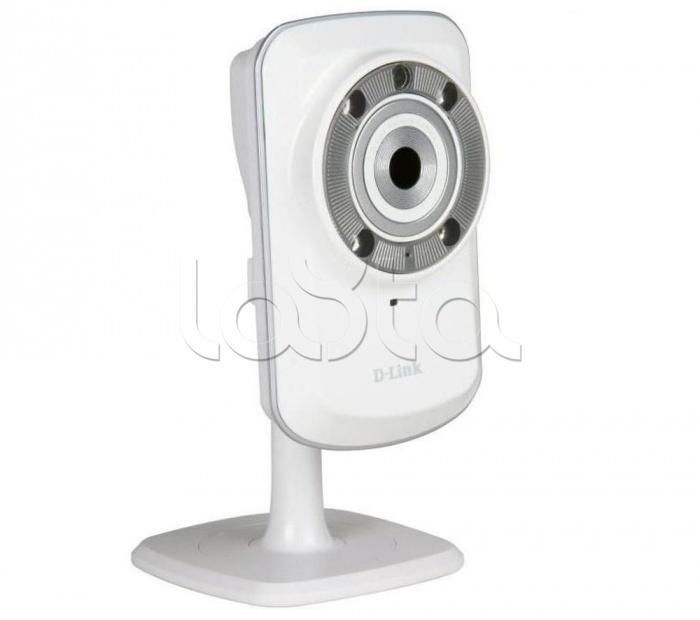 D-Link DCS-932L, IP-камера видеонаблюдения миниатюрная беспроводная D-Link DCS-932L