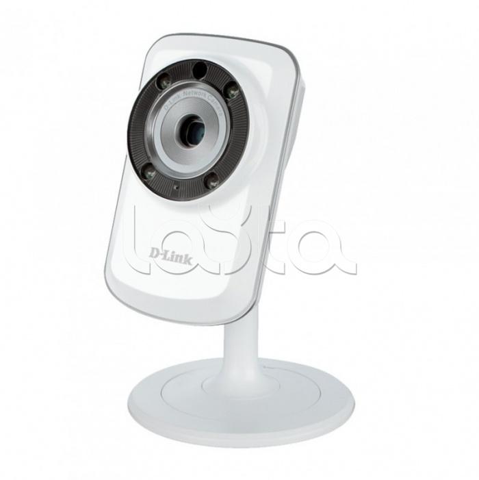 D-Link DCS-933L/A1A, IP-камера видеонаблюдения миниатюрная беспроводная D-Link DCS-933L/A1A