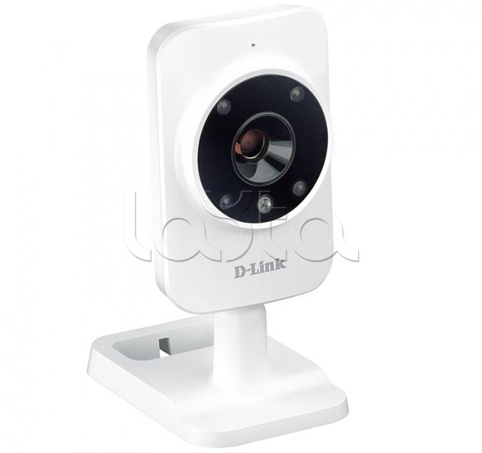 D-Link DCS-935L/RU/A1A, IP-камера видеонаблюдения миниатюрная D-Link DCS-935L/RU/A1A
