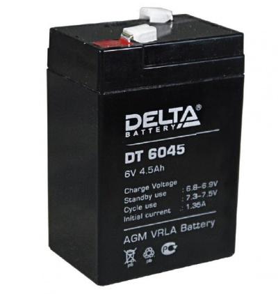 Аккумулятор свинцово-кислотный Delta DT 6045