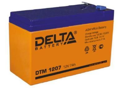 Аккумулятор свинцово-кислотный Delta DTM 1207