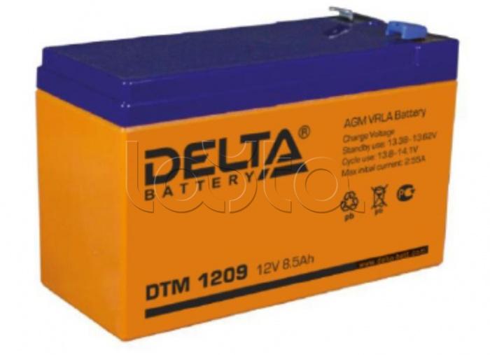 Delta DTM 1209, Аккумулятор свинцово-кислотный Delta DTM 1209