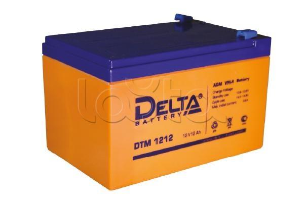 Delta DTM 1212, Аккумулятор свинцово-кислотный Delta DTM 1212