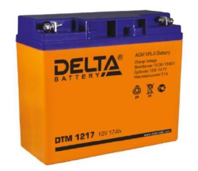 Аккумулятор свинцово-кислотный Delta DTM 1217