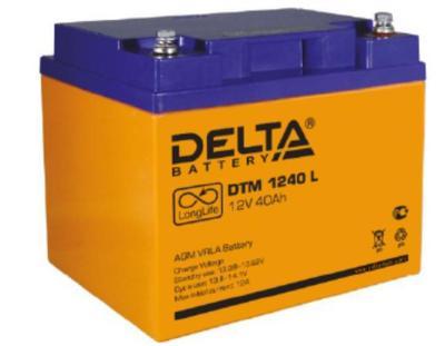 Аккумулятор свинцово-кислотный Delta DTM 1240 L