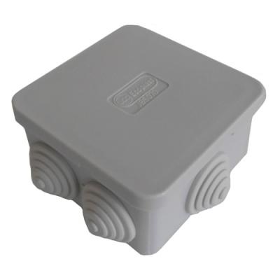 Коробка распределительная о/п 70х70х40, 6 вых Экопласт 44056