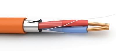 Кабель симметричый огнестойкий для систем пожарной сигнализации КПСЭнг(А)-FRLS 1х2х0.5 Энергокабель (200 м)