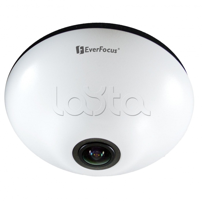 EverFocus EFN-3320, IP-камера видеонаблюдения купольная рыбий глаз EverFocus EFN-3320