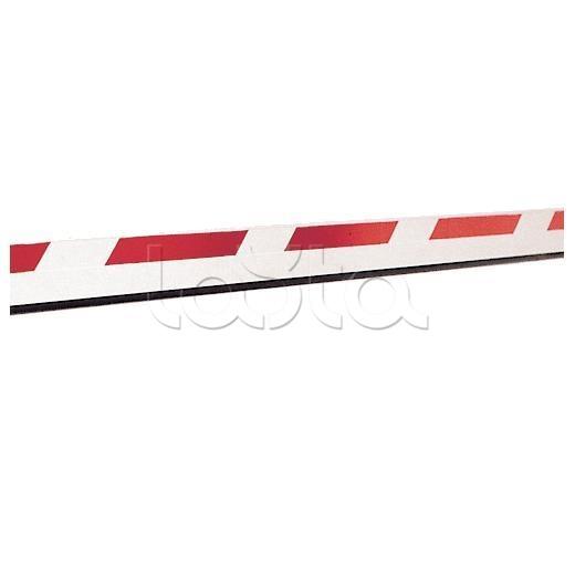 Faac 428088, Стрела прямоугольная с демпфером и светоотражающими наклейками, 25х90х2315 мм Faac 428088