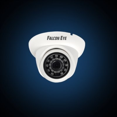 Камера видеонаблюдения уличная купольная Falcon Eye FE-ID1080MHD/20M-2,8