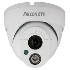 Falcon Eye FE-IPC-DL100P, IP-камера видеонаблюдения уличная купольная Falcon Eye FE-IPC-DL100P