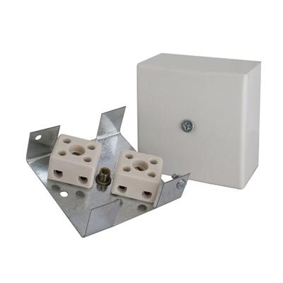Коробка монтажная огнестойкая Гефест КМ-О (4к)-IP41 (100 шт/уп)