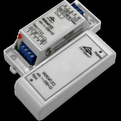 Устройство контроля линий связи и пуска сетевое Гефест УКЛСиП(С) ~220/=12В ver 2.00