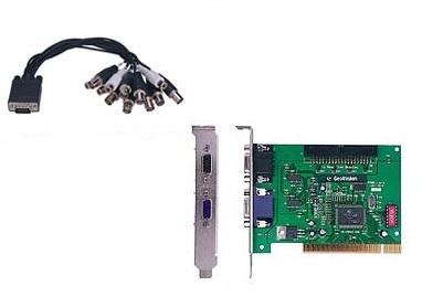 Компект цифрового видеонаблюдения 8 каналов GeoVision GV-250-8