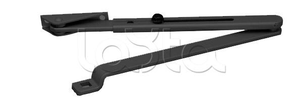 GEZE 119576,  Комплект стандартных рычажных тяг (черный) GEZE 119576
