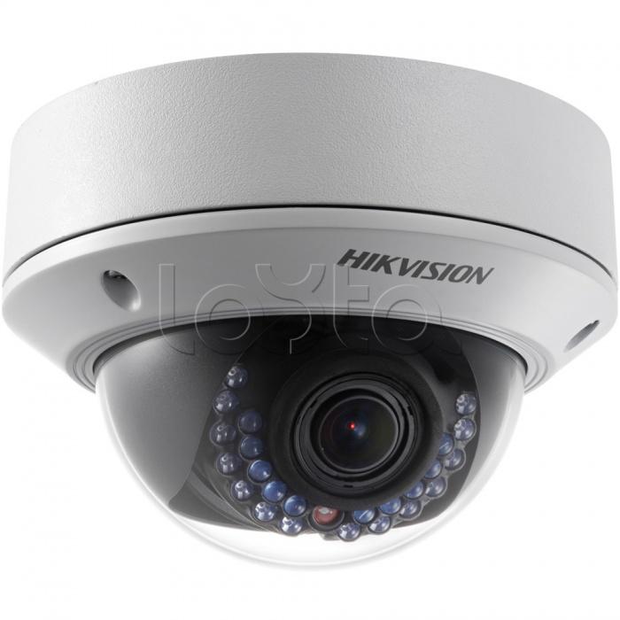 Hikvision DS-2CD2712F-IS + ПО DSSL TRASSIR IP, Комплект IP-камера видеонаблюдения купольная Hikvision DS-2CD2712F-IS + ПО DSSL TRASSIR IP