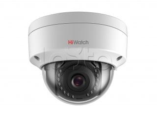HiWatch DS-I102 (2.8 mm), IP-камера видеонаблюдения купольная HiWatch DS-I102 (2.8 mm)