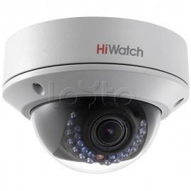 HiWatch DS-I128, IP-камера видеонаблюдения уличная купольная HiWatch DS-I128