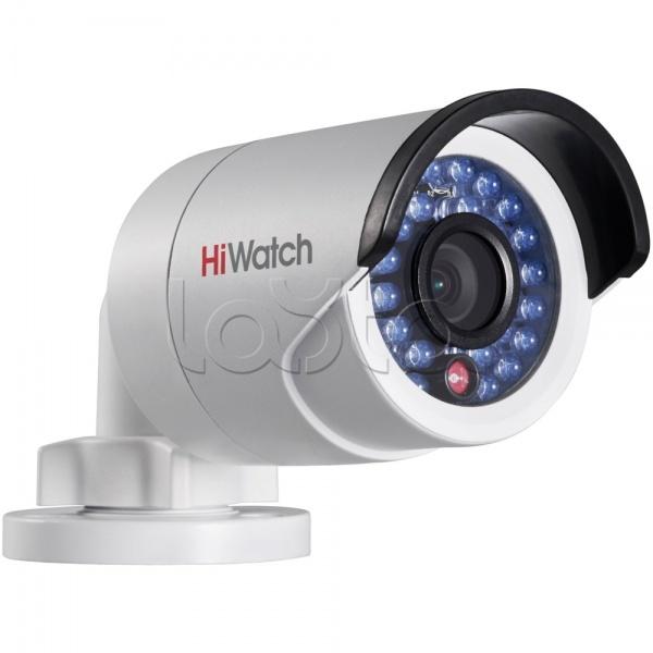 HiWatch DS-I220 (6 мм), IP-камера видеонаблюдения уличная в стандартном исполнении HiWatch DS-I220 (6 мм)