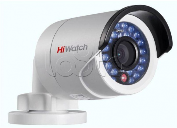 HiWatch DS-N201 + ПО DSSL TRASSIR IP, Комплект IP-камера видеонаблюдения уличная в стандартном исполнении HiWatch DS-N201 + ПО DSSL TRASSIR IP