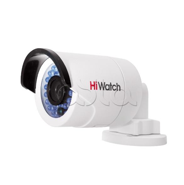 HiWatch DS-N201 (6 мм), IP-камера видеонаблюдения уличная в стандартном исполнении HiWatch DS-N201 (6 мм)