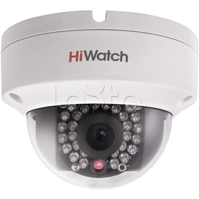 HiWatch DS-N211 (2.8мм), IP-камера видеонаблюдения уличная купольная HiWatch DS-N211 (2.8мм)