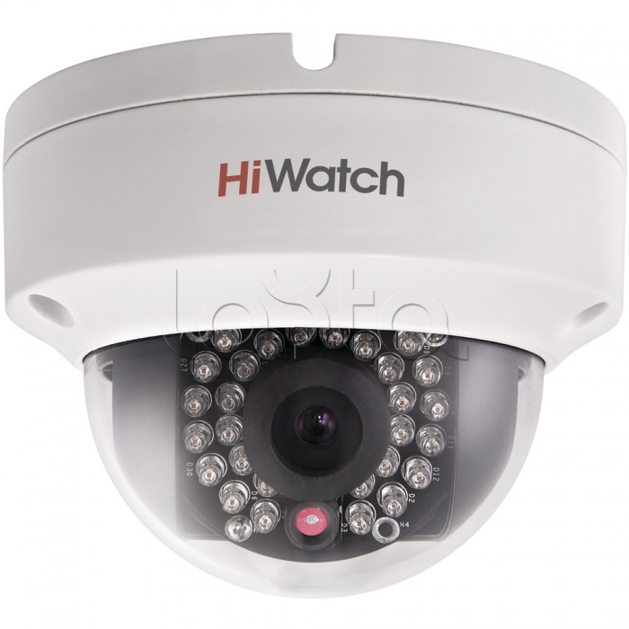 HiWatch DS-N211 (4 мм), IP-камера видеонаблюдения уличная купольная HiWatch DS-N211 (4 мм)