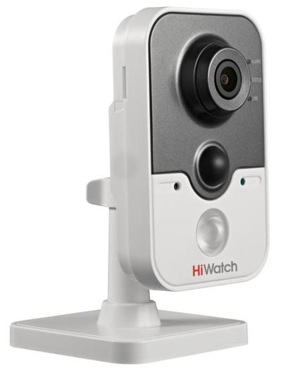 IP-камера в компактном корпусе HiWatch DS-N241(W) (2.8 мм)