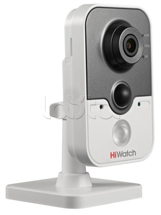 HiWatch DS-N241(W) (4 мм), IP-камера в компактном корпусе HiWatch DS-N241(W) (4 мм)