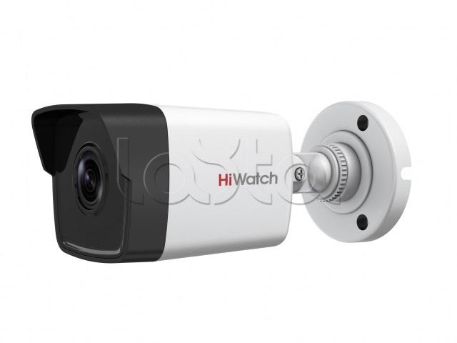 HiWatch DS-I400(С) (2.8 mm), IP-камера видеонаблюдения в стандартном исполнении HiWatch DS-I400(С) (2.8 mm)