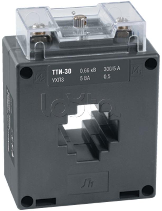 IEK ITT20-2-10-0200, Трансформатор тока ТТИ-30  200/5А  10ВА  класс 0,5  IEK ITT20-2-10-0200