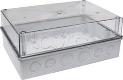 IEK MKP75-N-16-55-10, Корпус модульный пластиковый с прозрачной крышкой IP55 КМПн 5/16 IEK MKP75-N-16-55-10