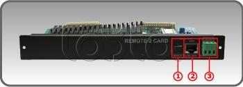 JDM RG-3220R2, Карта дистанционного управления JDM RG-3220R2