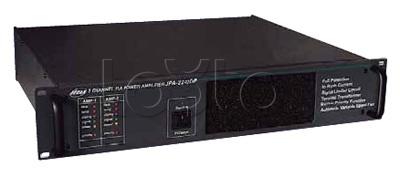 JediА JPА-2240DPТ, Усилитель мощности трансляционный двухканальный Jedia JPА-2240DPТ