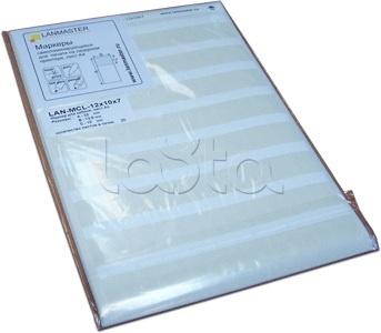 LANMASTER LAN-MCL-25x10x10, Маркер самоламинирующийся LANMASTER LAN-MCL-25x10x10