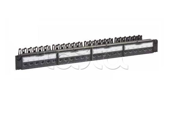 LEGRAND 033561, Патч-панель укомплектованная (UTP 8 контактов) LEGRAND 033561