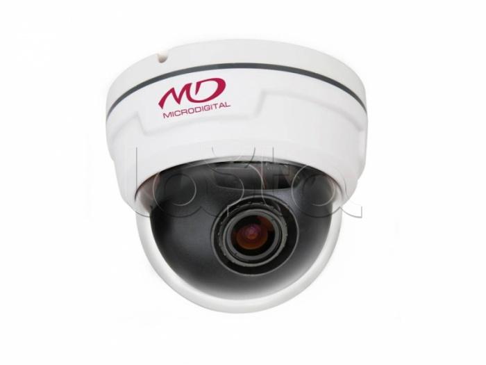 MICRODIGITAL MDC-i7290FTD-24, IP-камера видеонаблюдения купольная MICRODIGITAL MDC-i7290FTD-24