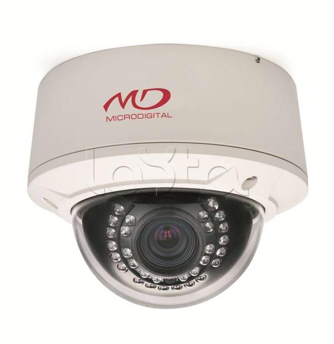 MICRODIGITAL MDC-i8090VTD-28HA, IP-камера видеонаблюдения уличная купольная MICRODIGITAL MDC-i8090VTD-28HA