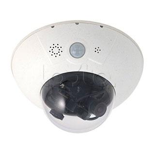Mobotix MX-D15Di-Sec-DNight-D160N160-FIX, IP-камера видеонаблюдения купольная Mobotix MX-D15Di-Sec-DNight-D160N160-FIX