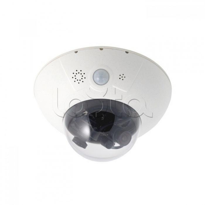Mobotix MX-D15Di-Sec-DNight-D32N32-FIX-6MP-F1.8, IP-камера видеонаблюдения купольная Mobotix MX-D15Di-Sec-DNight-D32N32-FIX-6MP-F1.8