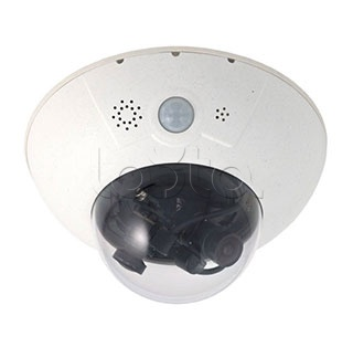 Mobotix MX-D15Di-Sec-DNight-D76N76-FIX, IP-камера видеонаблюдения купольная Mobotix MX-D15Di-Sec-DNight-D76N76-FIX